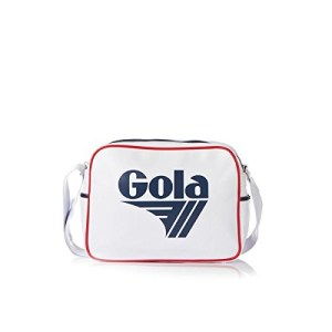 Gola Redford Bag Borsa A Tracolla Bianco Blu White Navy Red 0