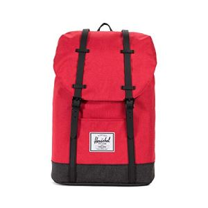 Herschel Retreat Barbados Cherry Crosshatchblack Crosshatch 0