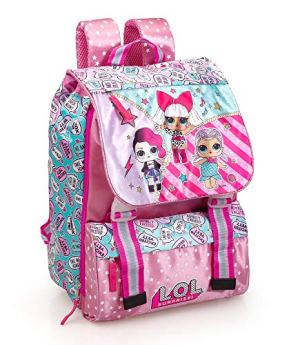 Lol Surprise 93112 Zaino Da Scuola Estensibile Poliestere Multicolore 0