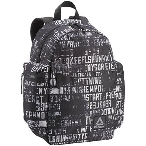 Reebok Kids Graphic Bp Zaino Casual 25 Cm 15 Liters Nero Negro 0