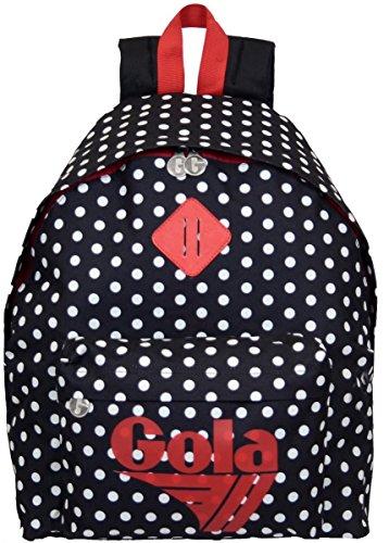 Zaino Gola Harlow Small Polka A Pois 42x33x14 Cm Cub031 Blackcreamred 0