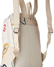 Desigual Bag Natural Message Novara Women Borse A Zainetto Donna Bianco Crudo 12x353x287 Cm B X H T 0 0