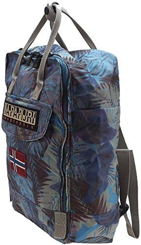 Zaino Uomo Donna Napapijri Backpack Runway Tote N8s01 Blu Marino 0