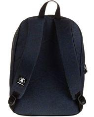 Zaino Invicta Perky Pack Blu Denim 27 Lt Tasca Porta Pc Scuola E Tempo Libero Americano 0 1