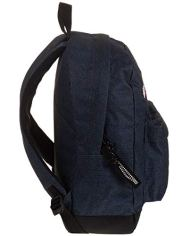 Zaino Invicta Perky Pack Blu Denim 27 Lt Tasca Porta Pc Scuola E Tempo Libero Americano 0 2