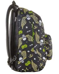 Zaino Reversibile The Double Skull Boy Nero Con Cuffie Stereo Soft Touch 27 Lt 2in1 Scuola Tempo Libero 0 4