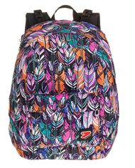 Zaino Seven The Double Plume Multicolore Cuffie Wireless 2 Zaini In 1 Reversibile 0 1
