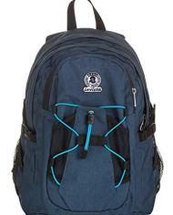 Zaino Invicta Active Benin Eco Material Blu 25 Lt Doppio Scomparto Tasca Porta Laptop Fino 13 Scuola Outdoor 0 3