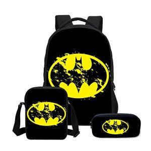 Zaini Per Bambini Fashion Cartoon Schoolbag Superman Battaglia Batman Rucksack Pacchetto Per Le Scuole Primarie E Secondarie 3 0