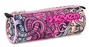 Bustina Seven Pinkshade Rosa Scuola 21 Cm 0
