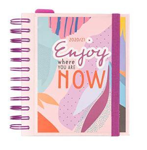 Grupo Erik Diario Scuola Giornaliero 20202021 Amelie 11 Mesi Daily Planner 14x16 Cm Tropical Collection 0