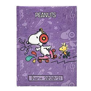Snoopy Penauts Agendadiario Scolastico Datato Scuola 2020 21 Dimensioni 20x145 Cm Circa Pagine In Lingua Italiana Copertina Imbottita 0