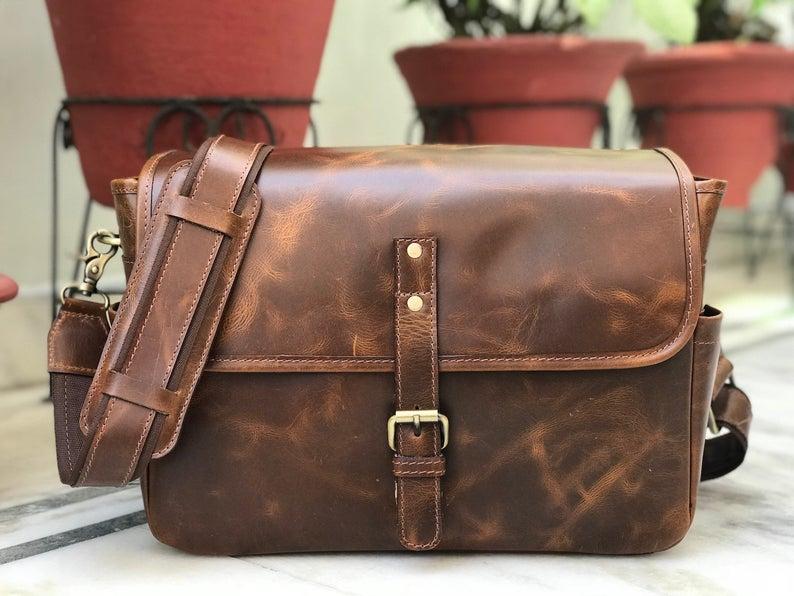Zakara Leather DSLR Camera Case