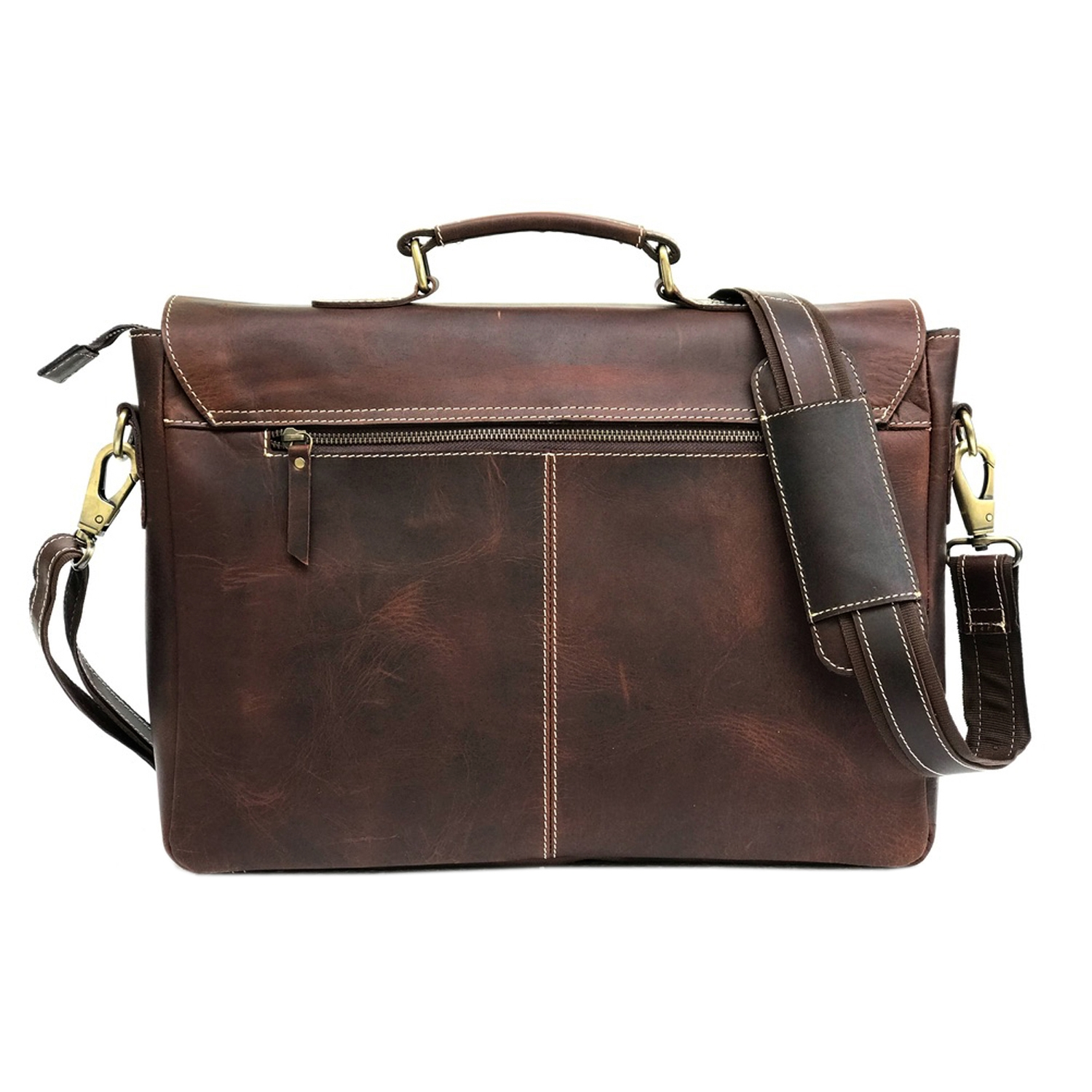 Zakara Brown Messenger Bag