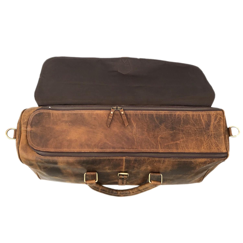 Zakara Leather Travel Bag