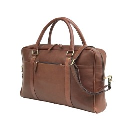 Zakara Leather Laptop Briefcase Bag