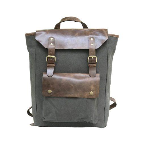 Zakara Canvas Backpack
