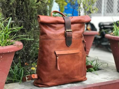 Zakara Leather Backpack