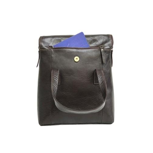 Zakara Leather Ladies Tote Bag