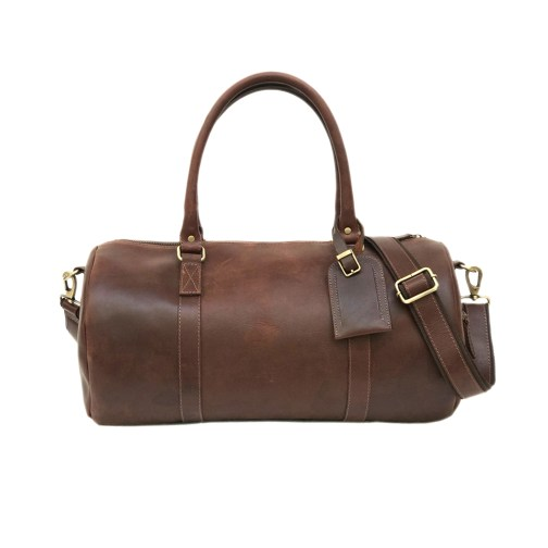 Zakara Leather Overnight Bag