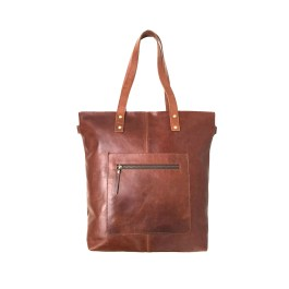 Zakara Leather Womens Work Bag