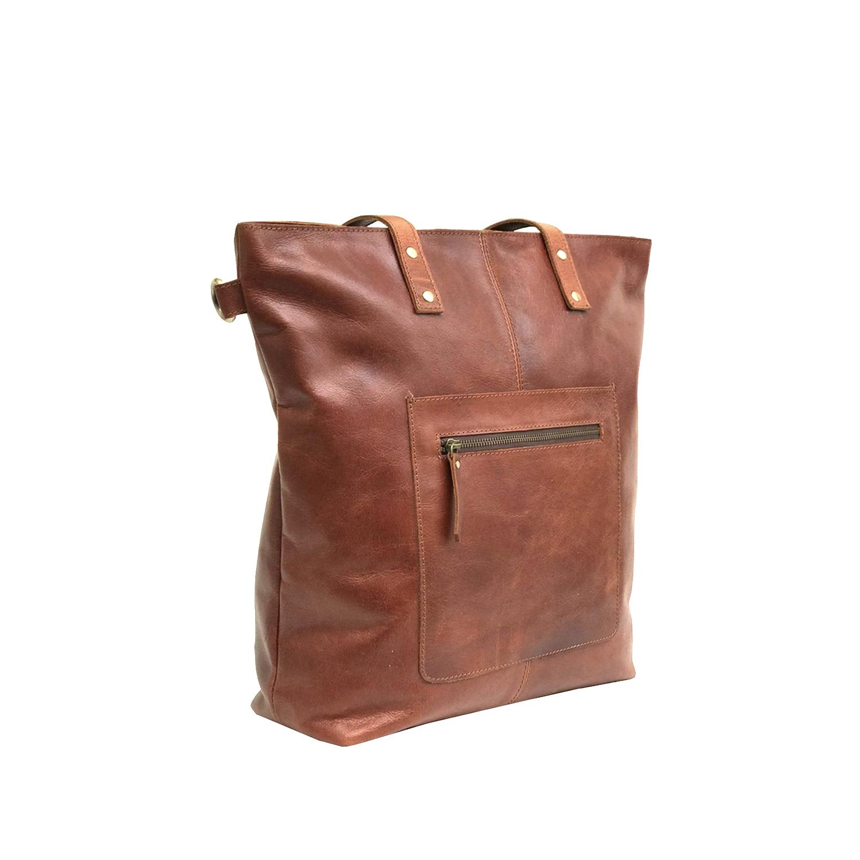 Zakara Leather Womens Work Bag