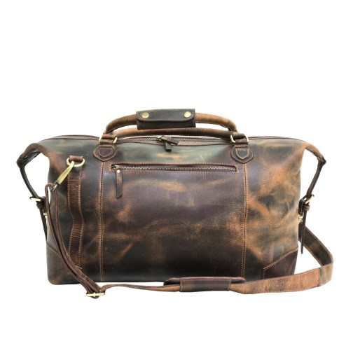 Zakara Leather Travel Bag