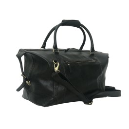 Genuine Buffalo Leather Gym Travel Duffle Bag