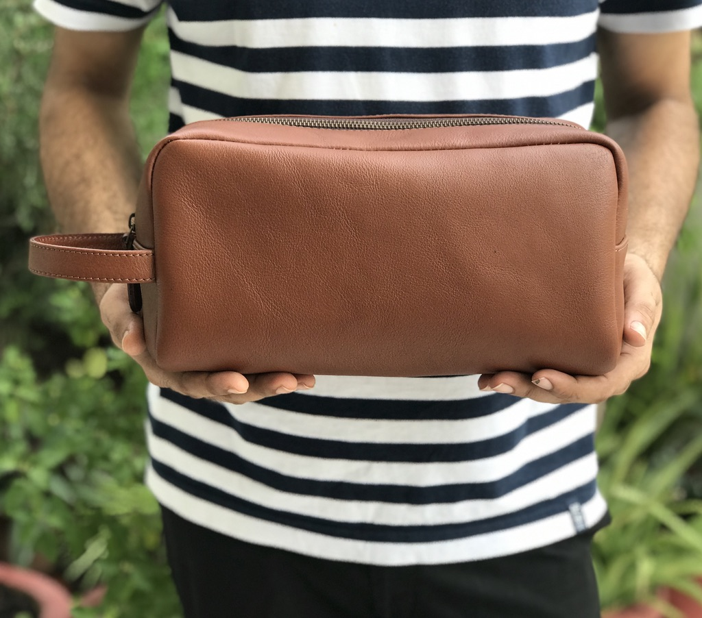 Zakara Leather Dopp Kit
