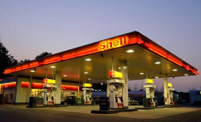 Shell, benzinepomp