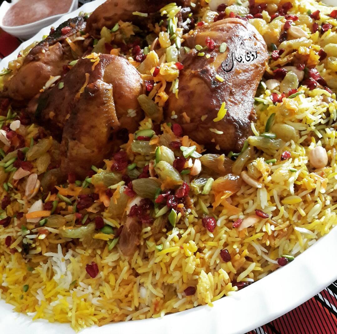 الكبسة الإيرانية الطعم فخامة وما بتكرر زاكي