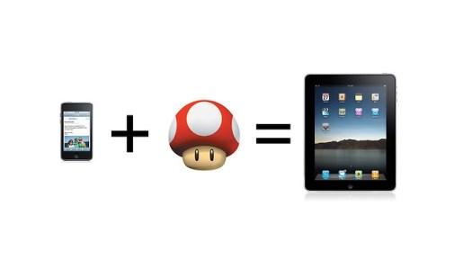 Nintendo-iPad