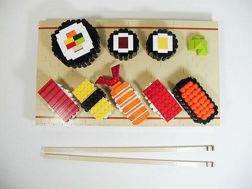 lego sushi