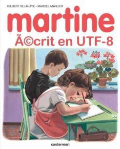 martine utf8
