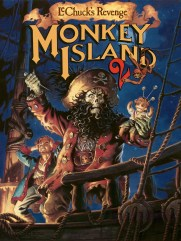 Monkey Island 2 - Poster (with number)