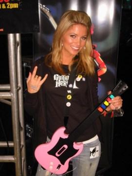 cute guitar hero girl