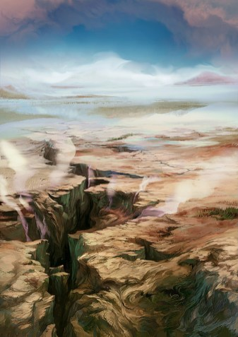 magic illustration Lands of Zendikar Plain