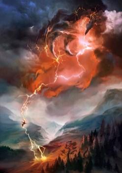magic illustration Player Rewards Lightning Bolt