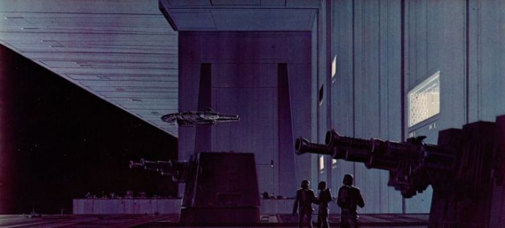 star wars concept-ralph mcquarrie-etoile de la mort