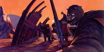 star wars concept-ralph mcquarrie-guerrier du desert