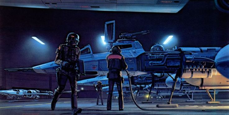 star wars concept-ralph mcquarrie-y wing