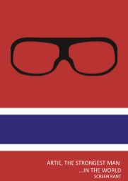 artie-strongest-man-in-the-world-minimalist-poster
