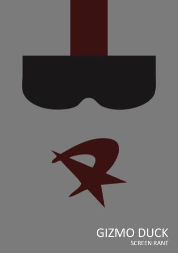 gizmo-duck-minimalist-poster