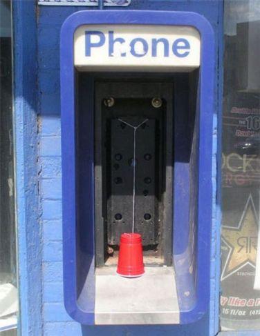 telephone rustique