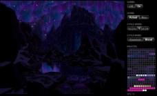 2010-07-26_html5 8bit animation aurores