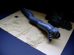 lego dune ver sandworm haut top