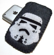 iphone chaussette stormtrooper