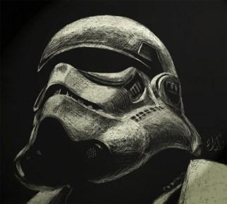 sketch stormtrooper