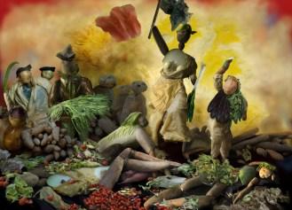 Eugene Delacroix. Liberty Leading the People