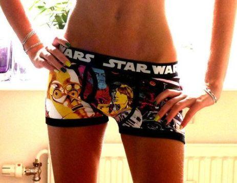 star wars panties